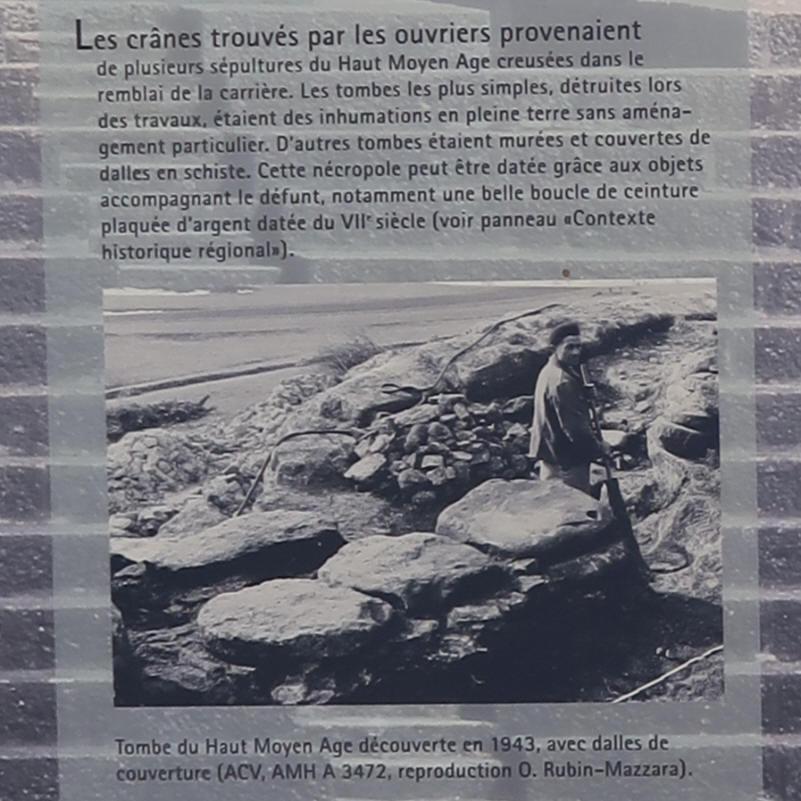 Carri re de meules gallo romaines de chavannes le ch ne for Tour de chavannes